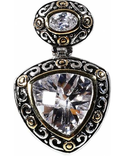 Серебряная золотая подвеска Jewelry Box