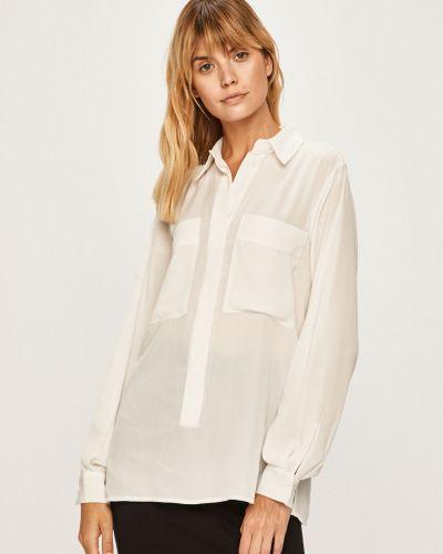 Блузка с длинным рукавом однотонная белая Silvian Heach