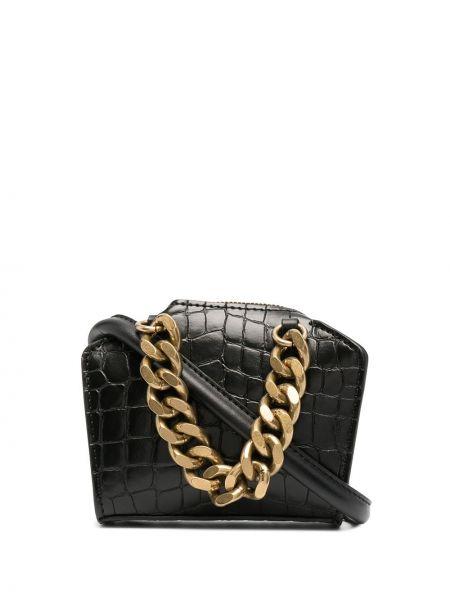 Czarny złoty łańcuszek Stella Mccartney