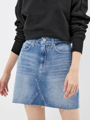 Джинсовая юбка - голубая Calvin Klein Jeans