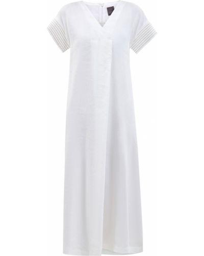 Платье мини короткое - белое Lorena Antoniazzi