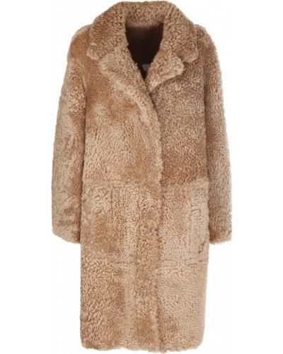 Beżowy płaszcz Drome