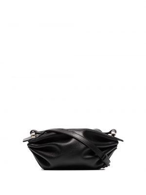 Czarna torebka srebrna Bonastre