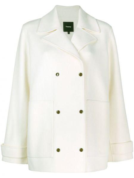 Пальто на кнопках с карманами Theory
