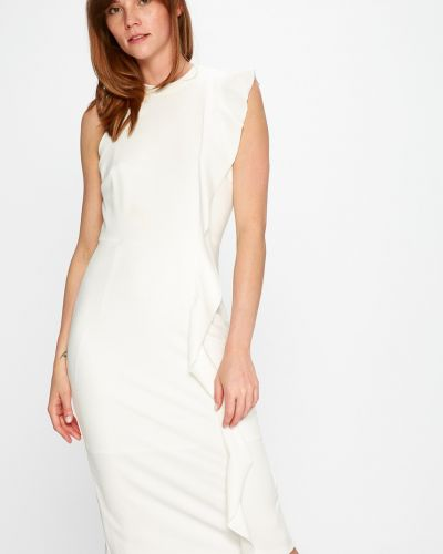 Платье миди однотонное прямое Silvian Heach