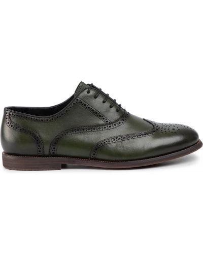 Туфли - зеленые Quazi