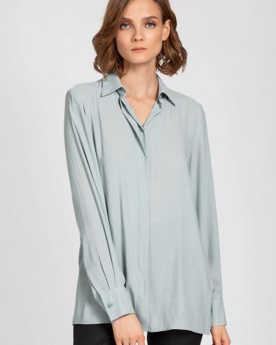 Блузка мятная классическая Vassa&co