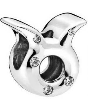 С цирконием серебряная подвеска с подвесками Pandora