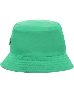 Kapelusz, zielony Prada