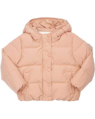 Пуховая куртка - розовая Bonpoint
