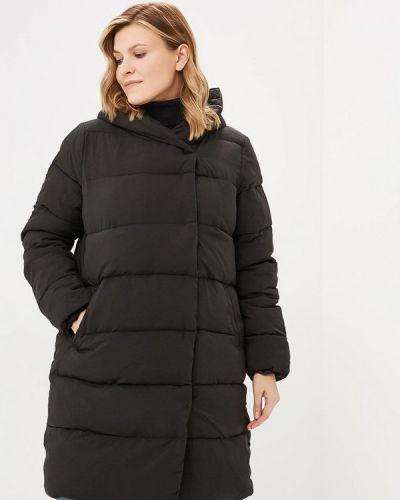 Зимняя куртка утепленная черная твое