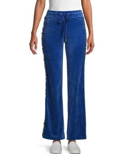 Плюшевые расклешенные брюки Juicy Couture