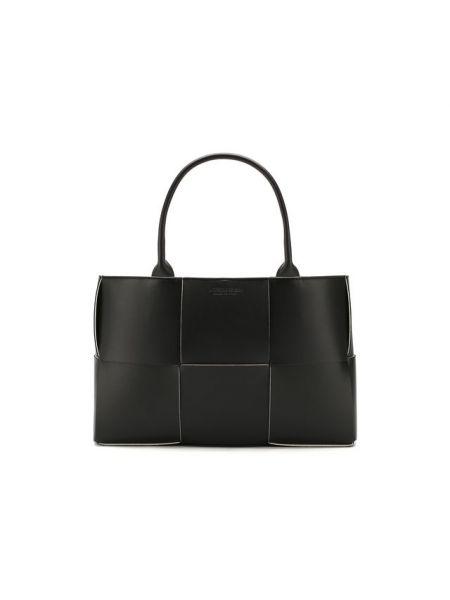 Кожаная сумка-тоут Bottega Veneta