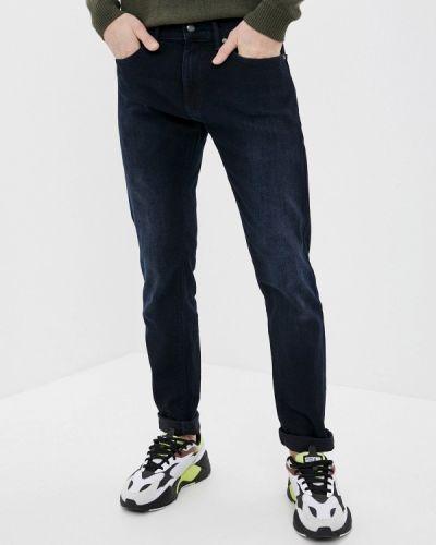 Синие зауженные джинсы-скинни Marks & Spencer