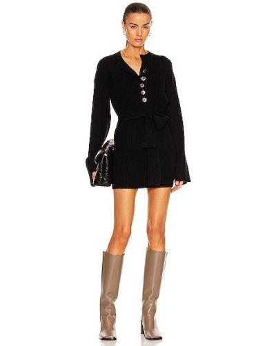 Черное кашемировое платье Marissa Webb