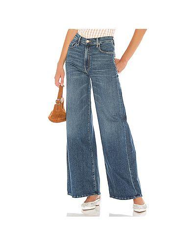 Широкие джинсы на пуговицах Mother