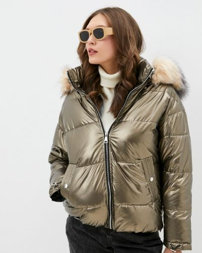 Утепленная куртка - золотая Softy