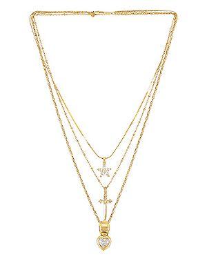 Ожерелье позолоченное Vanessa Mooney