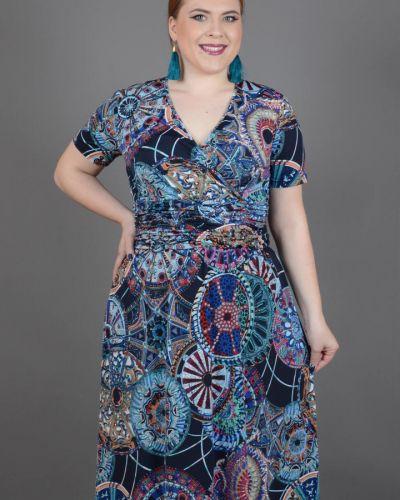 Летнее платье с запахом с поясом Avigal (avrora)