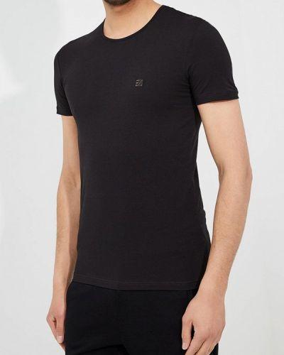 Черная футболка Ermenegildo Zegna