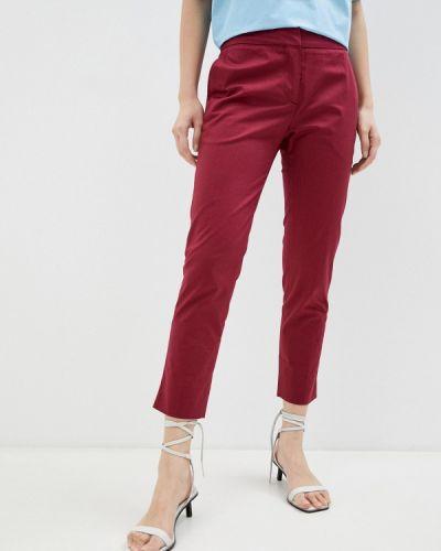 Красные повседневные брюки Trussardi