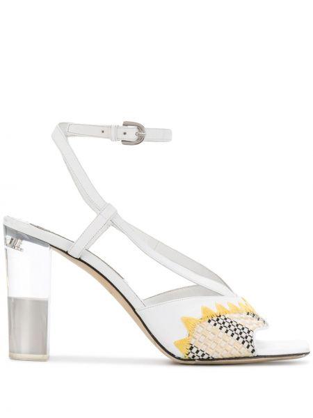 Sandały z klamrami otwarty Emilio Pucci