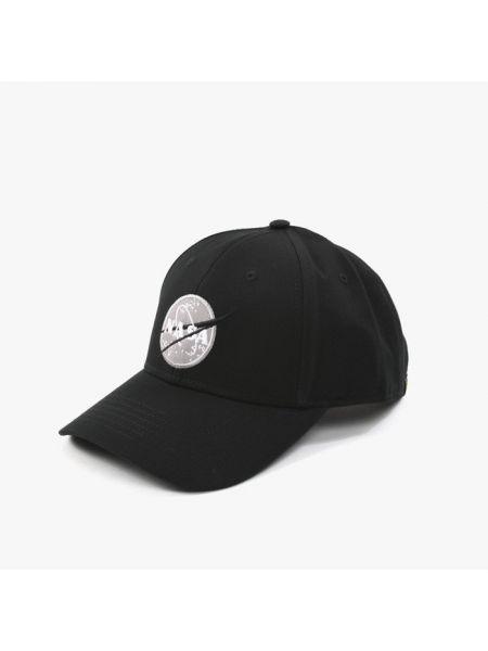 Черная кепка Alpha Industries