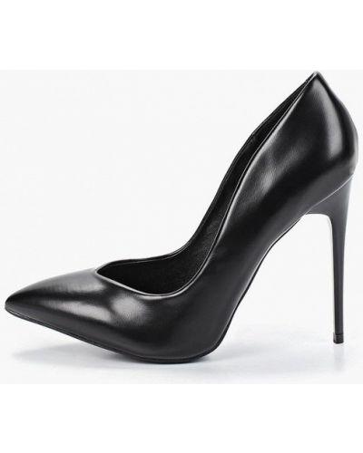 Туфли-лодочки на каблуке кожаные Fiori&spine