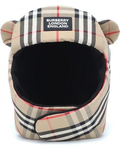 Beżowy bawełna bawełna kapelusz zabytkowe Burberry Kids