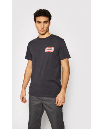 Szara t-shirt Deus Ex Machina