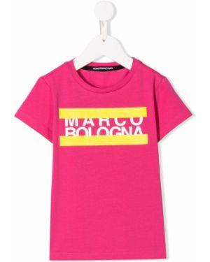Розовая футболка Marco Bologna Kids