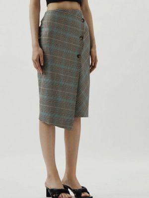 Бежевая весенняя юбка Antiga