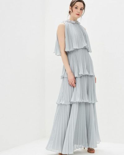 Платье макси серое декаданс True Decadence