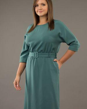 Платье с поясом на резинке платье-сарафан ангелика