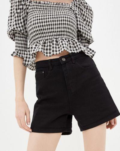 Черные джинсовые шорты Bruebeck