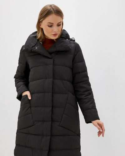Зимняя куртка черная осенняя Vila