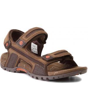 Brązowe sport sandały Merrell