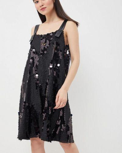 Черное платье Brigitte Bardot
