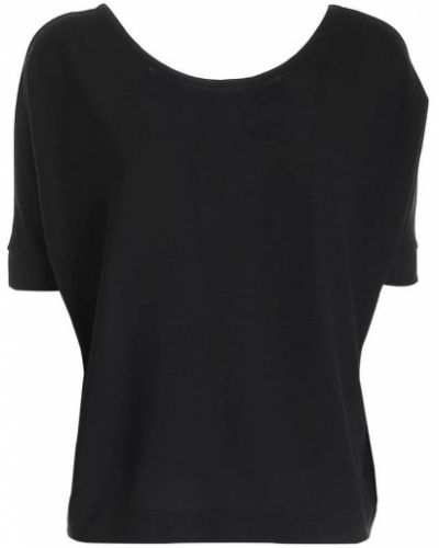 Czarna t-shirt Zanone