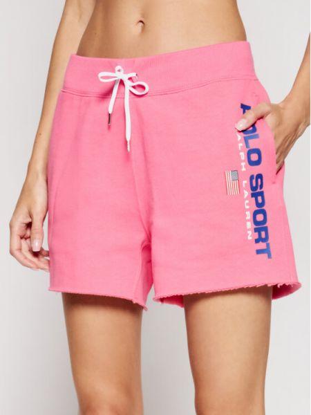 Spodenki sportowe - różowe Polo Ralph Lauren