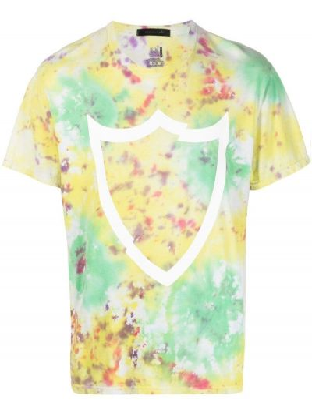 Zielony t-shirt bawełniany krótki rękaw Htc Los Angeles