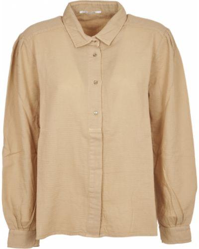 Beżowa koszula Pomandere