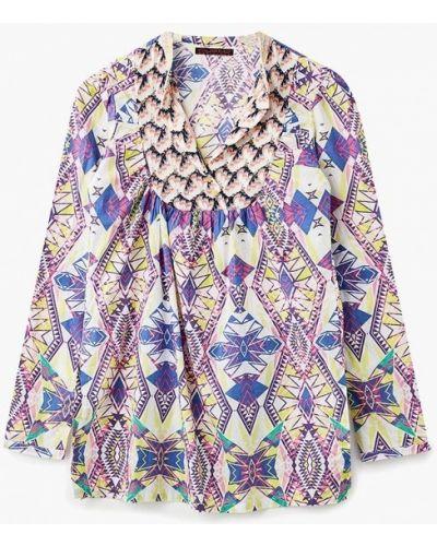 Туника с длинными рукавами индийская туника-блуза Custo Barcelona