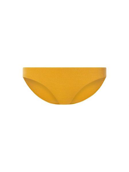 Nylon żółty bikini elastyczny Seafolly