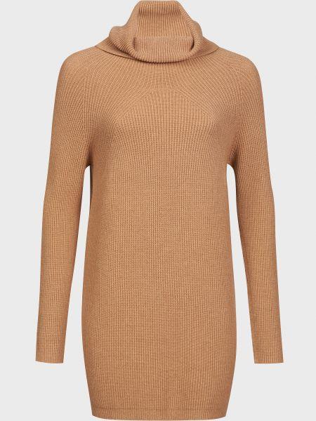 Платье из ангоры - коричневое Kontatto