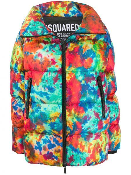Куртка на молнии с карманами Dsquared2