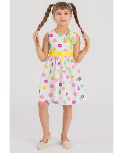 Платье хлопковое с поясом Lacywear