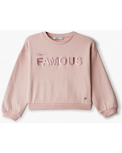 Розовый свитшот Tiffosi