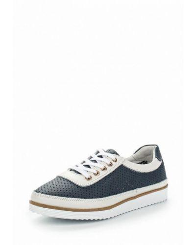 Синие кожаные ботинки Zenden Comfort