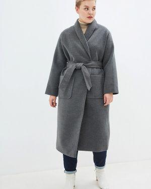 Пальто демисезонное серое Incity